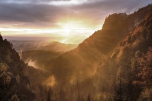 mountain sun image
